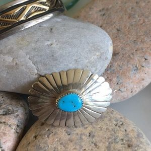 Jewelry - Vintage Native American Navajo Pin and Pendant